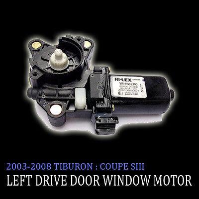 Left Side Door Window Motor for 2003-2008 Tiburon Coupe OEM Parts