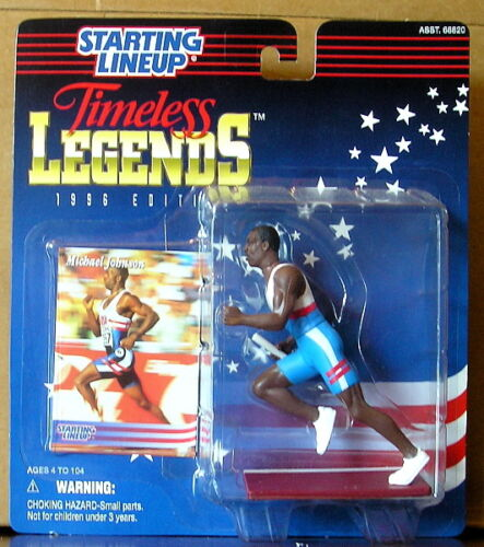 1996 Michael Johnson Timeless Legend SLU mint on card
