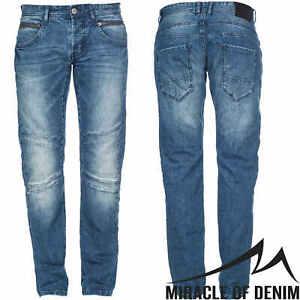 M.O.D Hose Jeans Jason Regular Herren Denim Schwarz Regular Fit Low Waist SALE