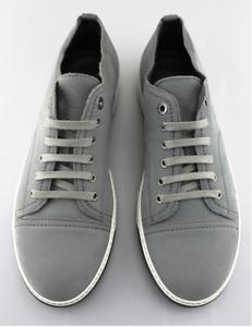 Grey Cap Toe Nubuck Sneakers Size