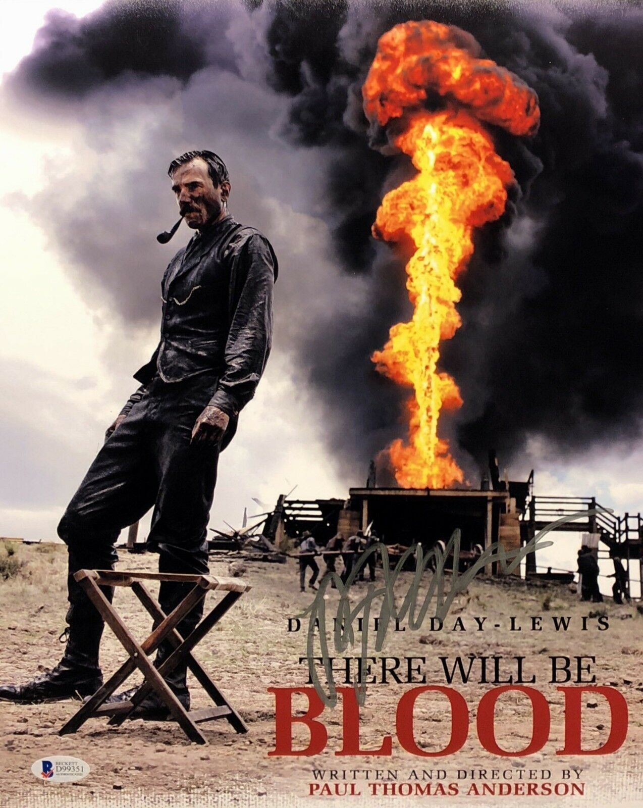 Paul Thomas Anderson Signed 'There Will Be Blood' 11x14 Photo Beckett BAS D99351