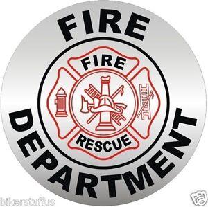 FD HELMET STICKER//DECAL BUMPER STICKER LAPTOP STICKER FIRE DEPARTMENT HARD HAT