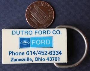 1970s Era Zanesville Ohio Dutro Ford Lincoln Mercury Motor