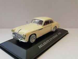 Hachette-1-43-Automobiles-French-Delahaye-233-Coach-New-IN-Box-Crystal