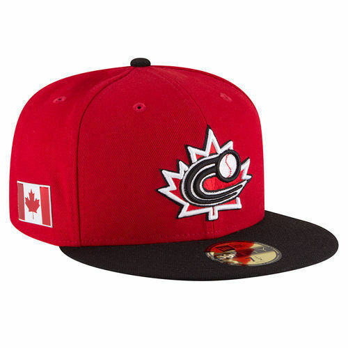New Era Baseball Canada WBC 2017 World Baseball Era Classic Black 59FIFTY Fitted Hat d934a0