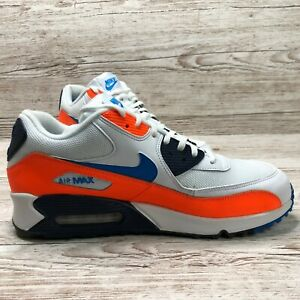 NIKE-MAX-90-ESSENTIAL-Blanco-Naranja-AIR-Size-UK-12-EUR-47-5-US-13-AO2924-001-95-1