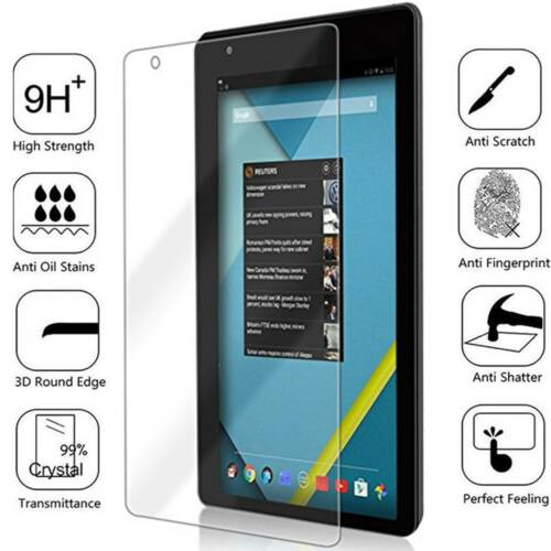 """2-PK RCT6973W43 Tempered Glass Screen Protector For RCA Voyager III 7/"""" BISEN"""