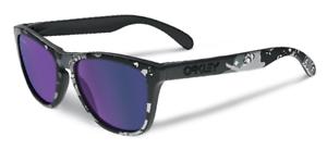 Oakley-Frogskins-Infinite-Heroe-MATE-CARBON-VIOLETA-Iridium-Gafas-de-sol