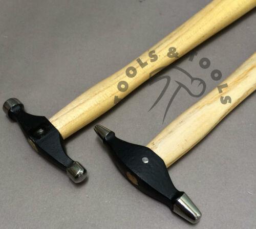 2 ordinateurs bijoux texturation marteau conception formant en métal argenté Smith REPOUSSEE