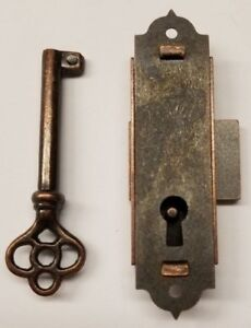 Image Is Loading Tall Door Lock With Key Clock China Curio