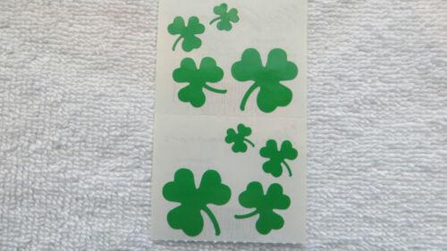 Mrs Grossman SHAMROCKS Strip of LUCKY Shamrock Stickers/'