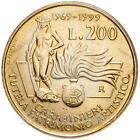 1999 * 200 lire Italia Tutela del Patrimonio Artistico Carabinieri