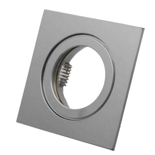 LED LED Einbaustrahler Set 230V 230V Set Dusche Bad starr 5-7W flach Modul 4557