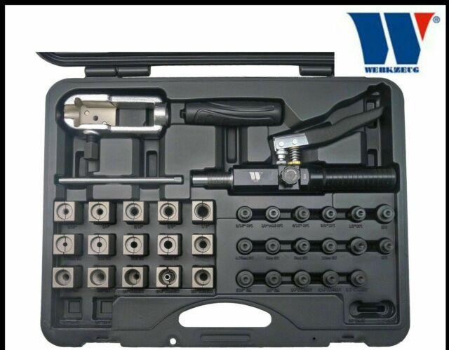 71098 Silver 37 Degree Hydraulic Flaring Tool Adapter Set MASTERCOOL