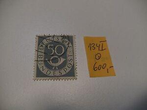 1951-BUND-Posthorn-MNR-134-I-gest-Bahnpoststempel-134I-600