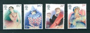 GB-QE-II-1982-Europa-British-Theatre-full-set-of-stamps-Mint-Sg-1183-1186