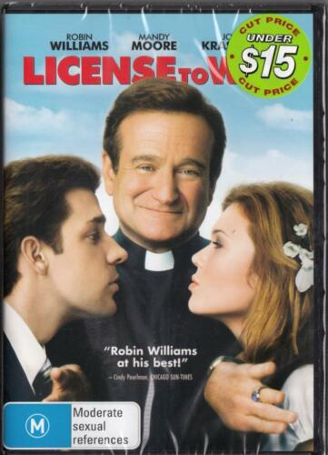1 of 1 - LICENSE TO WED - ROBIN WILLIAMS - NEW & SEALED REGION 4 DVD - FREE LOCAL POST