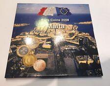 COFFRET BRILLANT UNIVERSEL DE MALTE DE 2008 @ MALTA BU @ PROMO RARE !