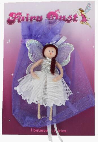 Wishing Fairy FREE POST Fair Trade Miniature Figurine//Keepsake From Colombia