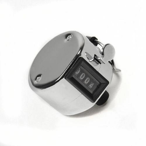 Stückzähler Mengenzähler Schrittzähler Handzähler Klickzähler Klicker Metall