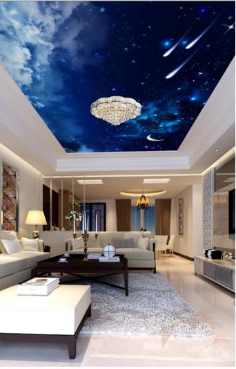 3D Moonlight Starry Sky 79 Wall Paper Wall Print Decal Wall Deco AJ WALLPAPER