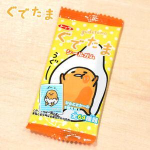 Top-Japan-Sanrio-Gudetama-Shirugamu-Sticker-Soda-Candy-Chewing-Gum-1pcs