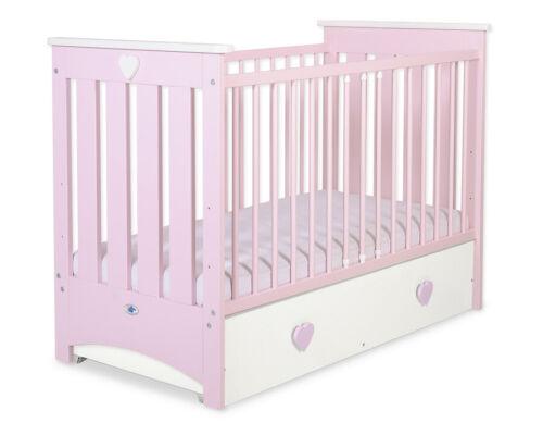 My Sweet Baby Lorenzo Babybett Bett,Juniorbett,Gitterbett 120x60 Maxi Schublade
