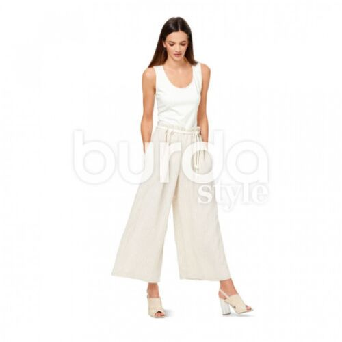 BURDA femme Easy sewing pattern 6544 Wide Leg Pantalon BURDA - 6544