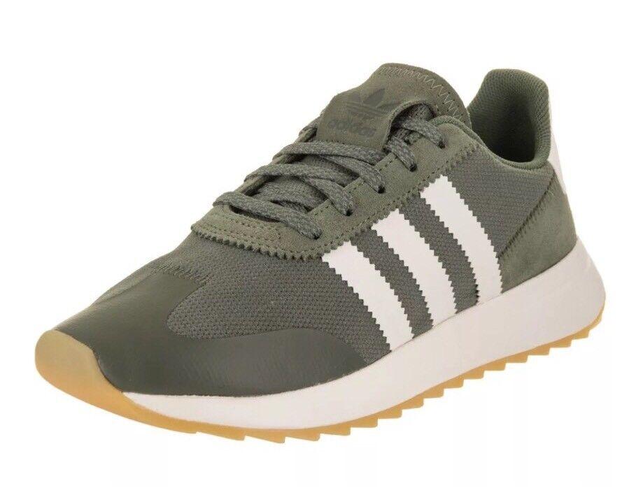 Adidas Originals 70's Flashback FLB Women's Size 5.5 Dark Green/Off White BY9303