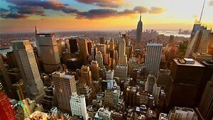 new york, home, skyscrapers, High Quality wall Art poster Choose your Size