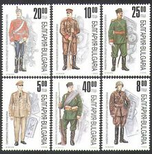Bulgaria 1996 Military Uniforms/Army/Soldiers/Clothes 6v set (n38469)