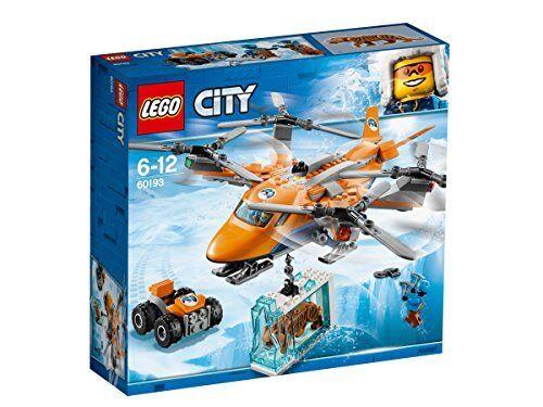 Lego Ciudad 60193 transporte aéreo del Ártico, expedición helicóptero helicóptero helicóptero Juguete, explorador de invierno  venderse como panqueques