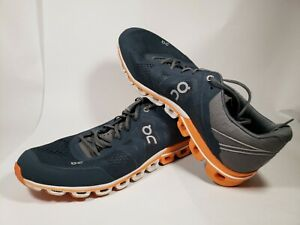 ON-Running-Men-039-s-Cloudflow-Size-9-42-5-Color-Rock-Orange