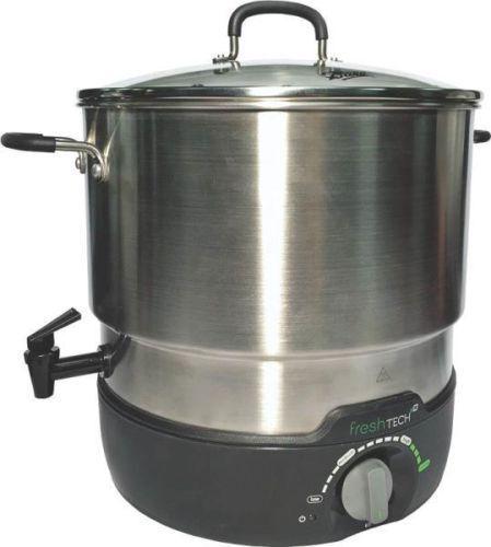 NEW BALL 1440035017 21 QUART ELECTRIC WATER BATH CANNER COOKER STEAMER 2360071