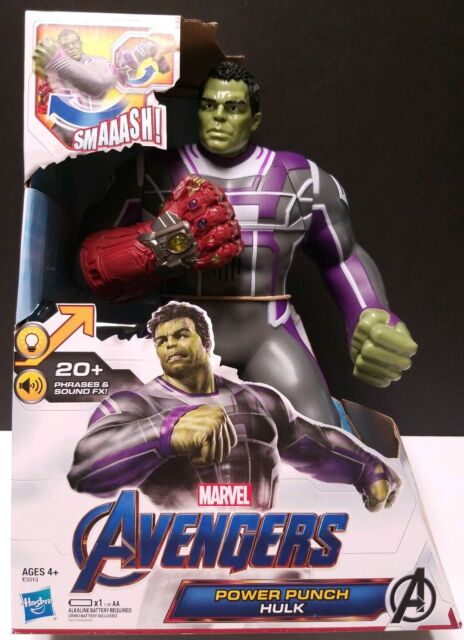 Avengers fonctionnalité Hero Power Punch Hulk