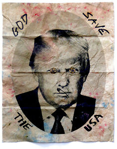 DONALD-TRUMP-GOD-SAVE-THE-USA-JAMIE-REID-UK-ARTIST-SIGNED-amp-NUMBERED-PRINT