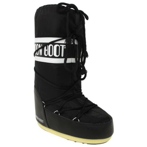 Moon Boot Nylon Negro  14004400 001// Mountain Footwear Men/'s Warm Boots