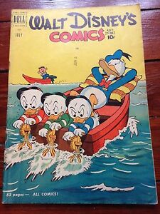 Walt-Disney-039-s-Comics-And-Stories-130-July-1951-all-Carl-Barks-art