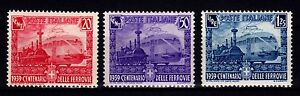 ITALY 1939 - SC# 410 - 412 MINT NEVER HINGED SET - <span itemprop='availableAtOrFrom'>Haßfurt, Deutschland</span> - ITALY 1939 - SC# 410 - 412 MINT NEVER HINGED SET - Haßfurt, Deutschland