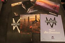 WATCH DOGS 2 POSTCARDS and MAP