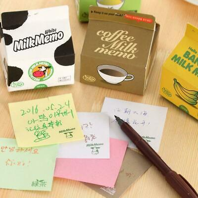 Fruit Tea Milk Sticker Bookmark Memo Pad Sticky Note Stationery School Supplies