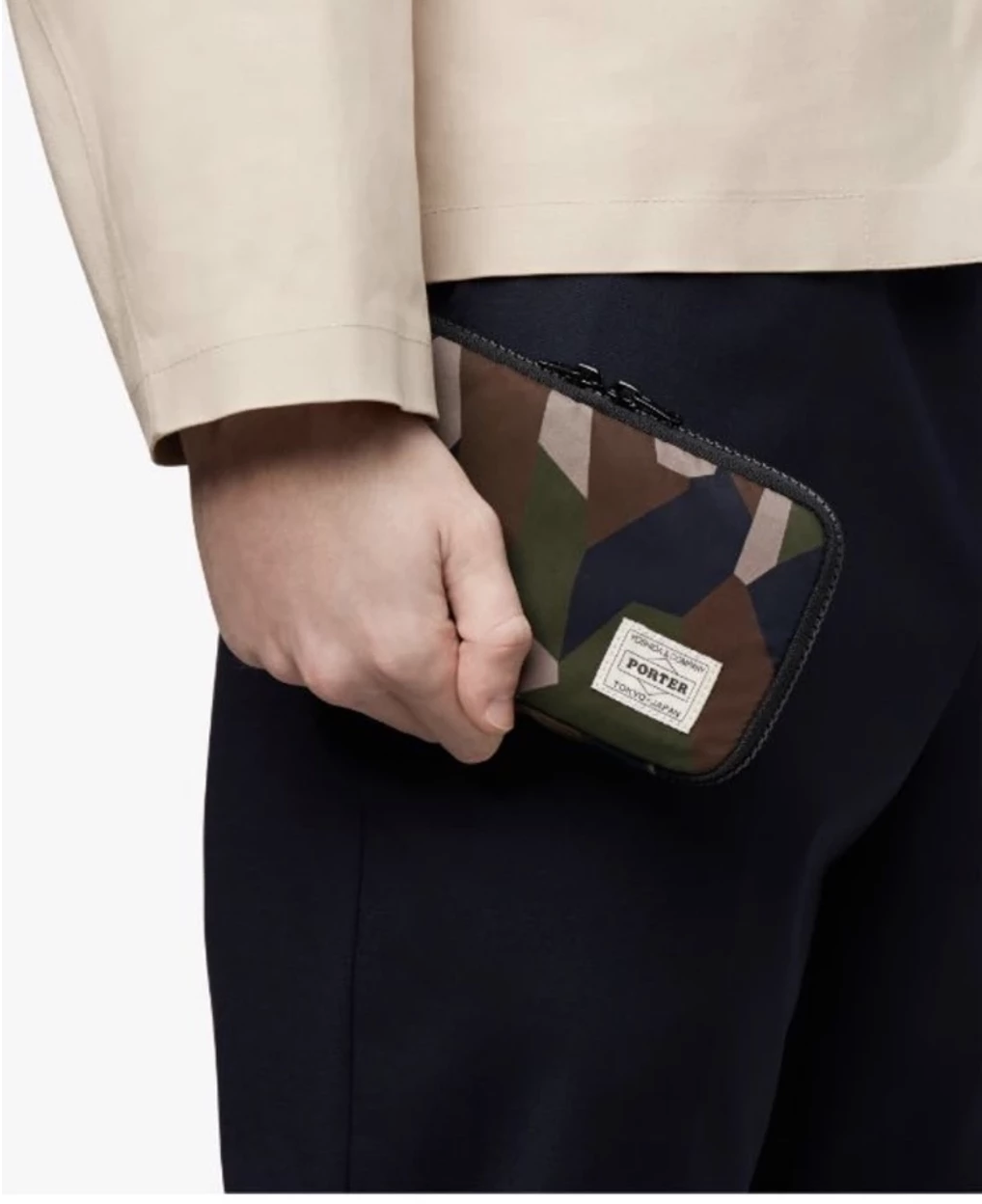 Porter X Mackintosh Zip Wallet Clutch Pouch *NEW WITH TAGS*