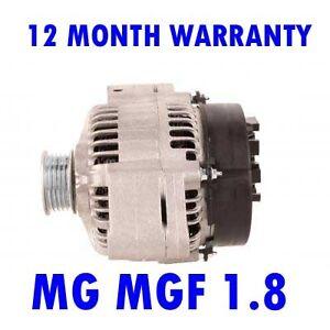 MG MGF STARTER MOTOR 1.8i 16V VVC PETROL 1995 1996 1997 1998 1999 2000 2001 2002