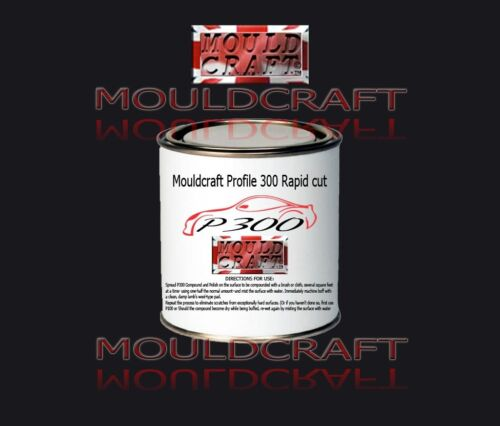MOULDCRAFT P300 COARSE CUTTING COMPOUND SCRATCH REMOVER MOULDS  GELCOAT PAINT