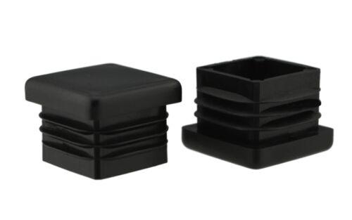 24 x Fussstopfen 25 x  25mm schwarz Rohrstopfen Fusskappen Gartenstuhl Tisch