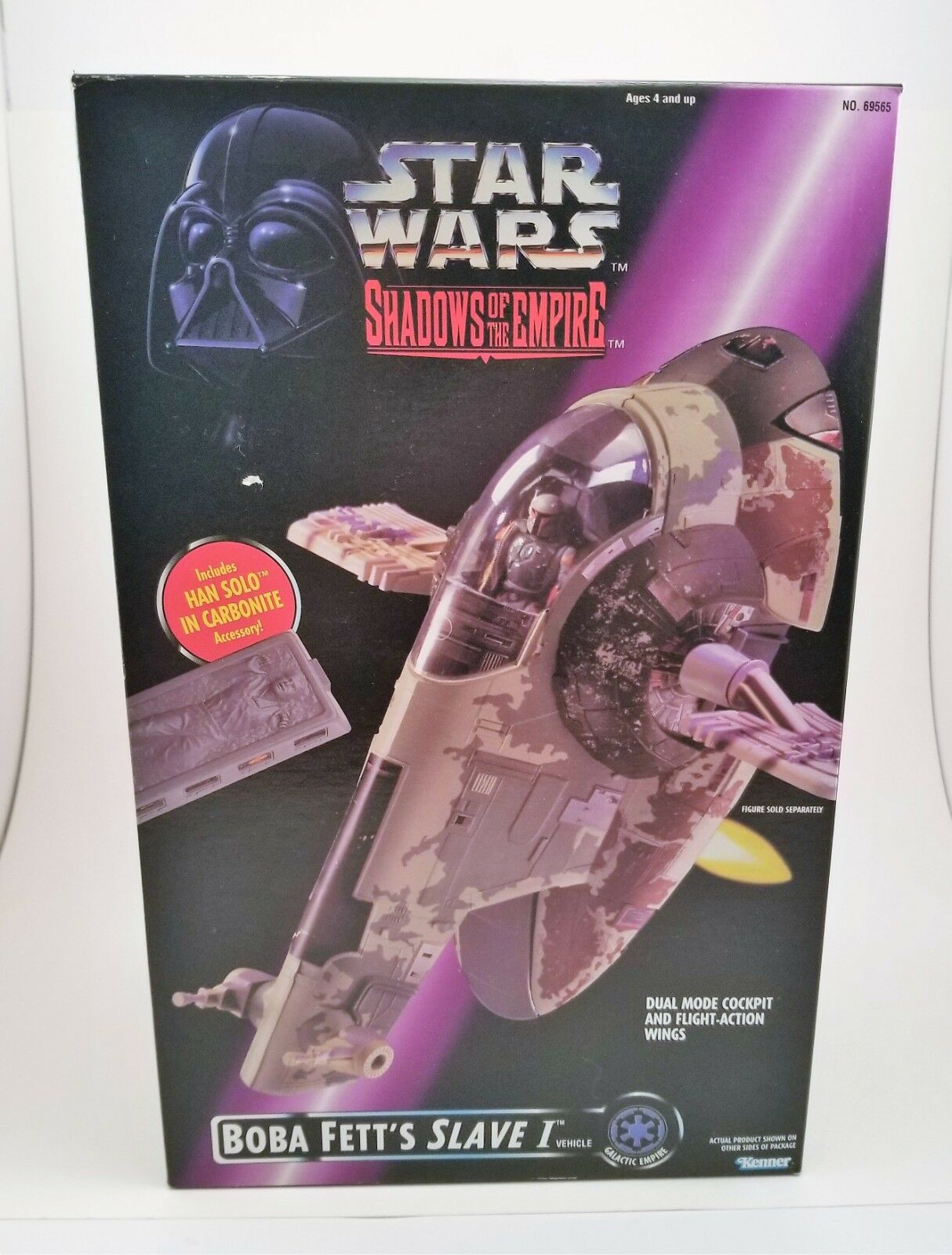 Slave 1 1996 Power of the Force STAR WARS Shadows of the Empire POTF SOTE MIB