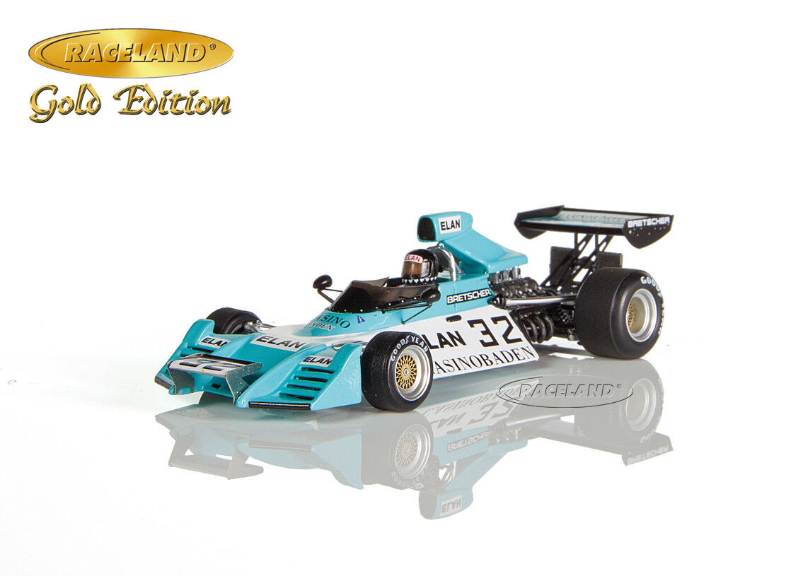 Brabham bt42 Formule 1 GP Autriche 1974, Helmuth koinigg, RACELAND Spark 1 43
