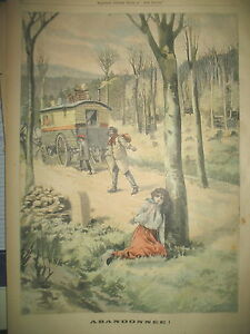 SAINT-MIHIEL-BOHEMIENS-ROULOTTE-ABANDON-FILLETTE-JOURNAL-LE-PETIT-PARISIEN-1903