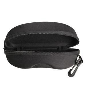 Zipper-Eye-Glasses-Sunglasses-Hard-Case-Box-Portable-Protector-Black