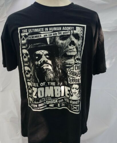 Vtg Rob Zombie 1999 Call of the Zombie Living Dead